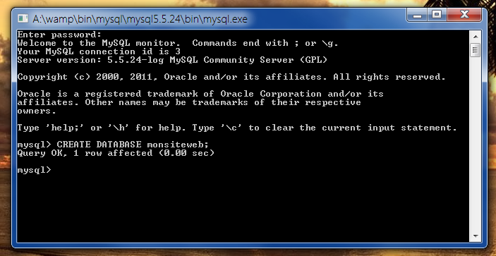 Mysql Sql Creer Son Site Web Apprendre Html Css Php Javascript