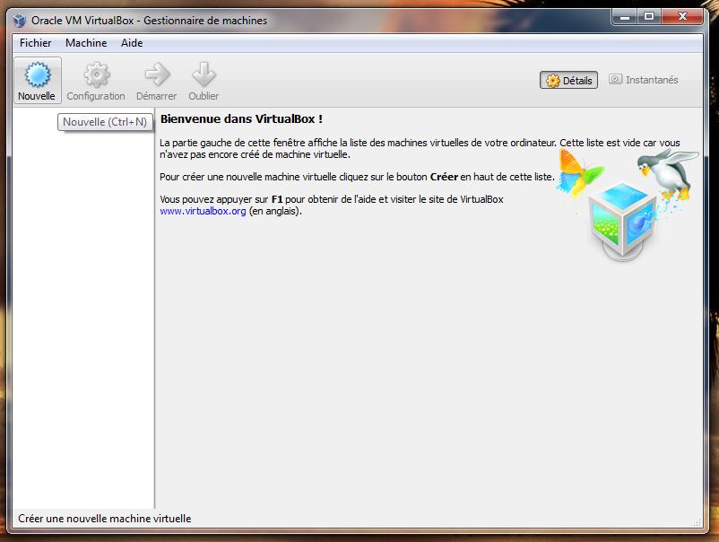 téléchargez et installez pfsense sur virtualbox